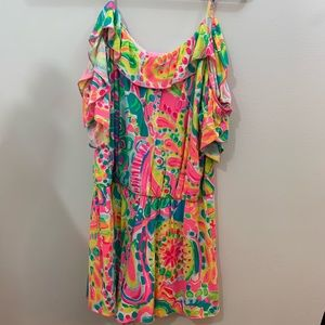 Lilly Pulitzer Pants - Fenella Lilly Pulitzer romper M